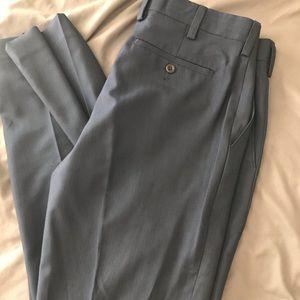 Men's tailored dress pants